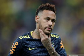 Neymar dipastikan absen empat pekan