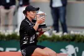 Ashleigh Barty ratu baru Roland Garros