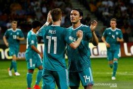 Sane dan Reus antar Jerman menang 2-0 atas Belarusia