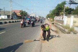 """Polres Indramayu tertibkan """"penyapu uang"""" ganggu arus kendaraan"""