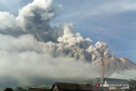 BPBD Karo terus berjaga tekan dampak erupsi Sinabung