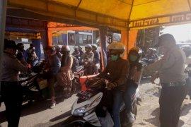 Pemeriksaan kendaraan di pelabuhan Gilimanuk dipindahkan