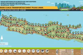 Jakarta tanpa hujan di hari terakhir libur Lebaran