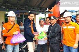 Perusahaan Batubara salurkan bantuan korban banjir