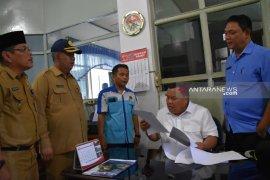 Wali kota Sibolga, wakil dan sekda bagi tugas sidak kehadiran ASN