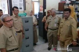Bupati Belitung sidak kehadiran ASN usai libur lebaran