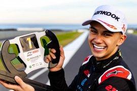 Ini dia, Luis Leeds, pebalap Australia berdarah Indonesia bersinar di Formula 4
