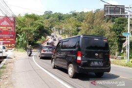 H+5 Lebaran arus kendaraan kembali meningkat di Jalur Puncak-Cianjur
