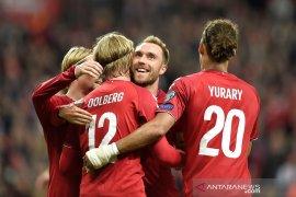 Denmark, Irlandia petik kemenangan di Grup D