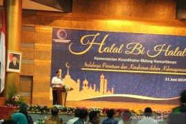 Usai Ramadhan, Menko Kemaritiman turun berat badan 3,5 kg