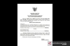 Permohonan Prabowo-Sandi sudah teregistrasi MK