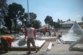 Panitia HUT Curup siapkan 52 tenda gratis untuk pameran