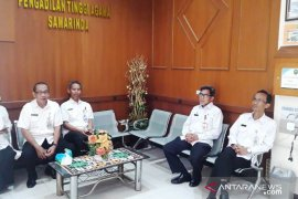 Sambangi Ketua PTA Samarinda, Jauhar Silaturahmi dan Halal Bi Halal
