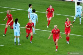 Amerika Serikat hajar Thailand 13 gol tanpa balas