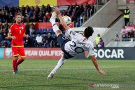 Prancis menang besar di kandang Andorra di kualifikasi Eropa