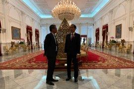 Jokowi sebut akan berbagi tugas dengan Ma'ruf Amin secara fleksibel