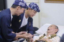 Bima Arya dan Dedie Rachim sambangi Wali Kota Bogor ke-13 Eddy Gunardi