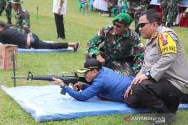 Kandangan Kodim held a shooting contest