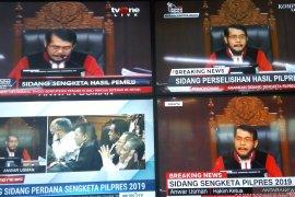 Sidang pilpres di Mahkamah Konstitusi dimulai