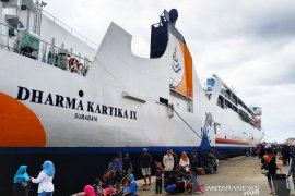 Dharma Lautan angkut 18 ribu penumpang selama arus mudik lebaran