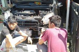 Diduga sasaran teror, mobil wartawan RMOL Bengkulu terbakar