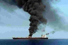 AS salahkan Iran atas serangan terhadap tanker di Teluk Oman