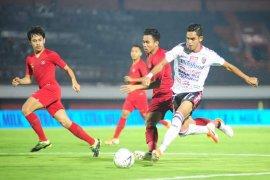 Bali United VS Timnas U-23 skor imbang 0-0
