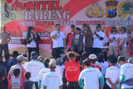 Pemkab Blitar-polisi ajak warga dukung Indonesia damai