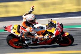 Marc Marquez juarai GP Catalunya, Lorenzo sebabkan kecelakaan beruntun