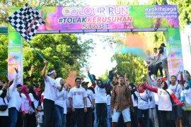 """Warga Kota Probolinggo deklarasi tolak kerusuhan dalam """"Colour Run"""""""