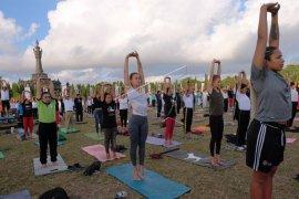 Perayaan Hari Yoga Internasional