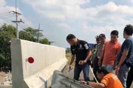 Polisi telusuri penemuan bagian kaki manusia di jalan tol