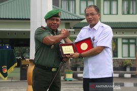 Korem 133 Gorontalo - BWS kerja sama pengelolaan air bersih