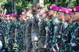 Marinir Indonesia-Amerika latihan bersama bahas penanganan bencana alam