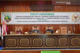 Pemkab Kotabaru mengajukan dua Raperda