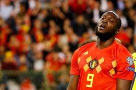 Pelatih timnas Belgia sarankan Lukaku tinggalkan  MU