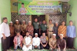 Polsek Air Gegas gelar Halal bi halal bersama Tripika
