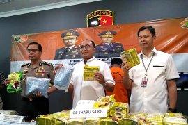 Polri tangkap anggota jaringan narkotika lintas Malaysia