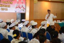 """Pemkot Denpasar tatar """"Pemangku"""" dan """"Serati Banten"""""""