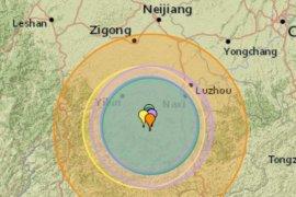Korban tewas gempa China baratdaya  bertambah