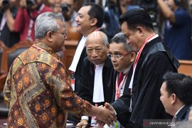 Sidang MK - Yusril sebut permohonan Prabowo-Sandi cacat formil
