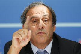 Platini bantah langgar aturan terkait terpilihnya Qatar tuan rumah PD 2022