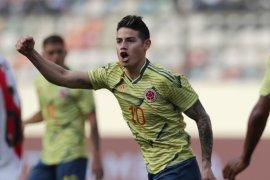 Real Madrid pinjamkan pemain James Rodriguez ke Napoli