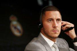 Pesan perpisahan Eden Hazard di grup WA pemain Chelsea