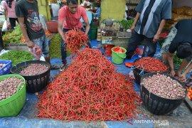 Harga cabai merah naik drastis