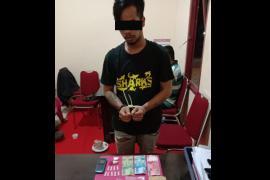 Polsek Anjongan tangkap pelaku tindak pidana narkoba