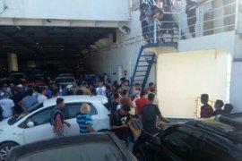 Toyota Avanza tercebur ke Laut Sunda dari kapal feri