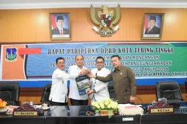 DPRD sepakat Ranperda LKPJ Wali Kota Tebing Tinggi ditingkatkan jadi Perda