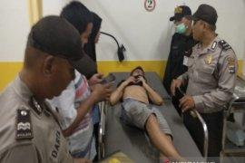Polsek Banteng kejar pelaku penganiayaan anak
