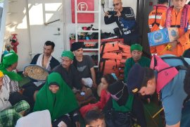 Penumpang boat tenggelam di Pulau Aceh dievakuasi ke Sabang